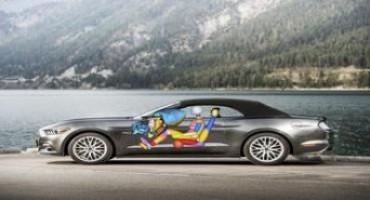 Ford Mustang, sportiva e sicura grazie al nuovo air-bag per le ginocchia del passeggero