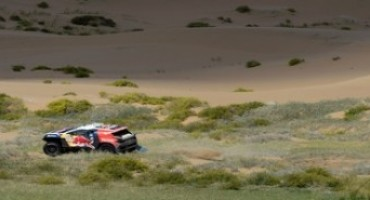 Peugeot, China Silk Rally: la sesta tappa esalta le 2008 DKR