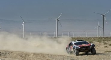 Peugeot Sport – China Silk Rally: la 2008 DKR in testa a metà del percorso