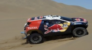 Peugeot Sport – China Silk Rally – Tappa 8: le dune giganti, che sorpresa!