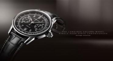 Longines presenta Column-Wheel Single Push-Piece, cronografo dall'estetica essenziale