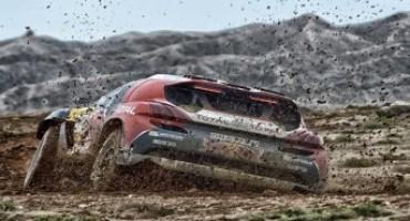Peugeot Sport – China Silk Road Rally 2015, una copiosa pioggia investe la decima tappa