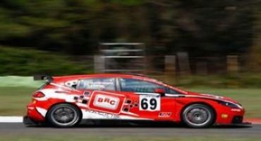 ACI Sport, CITE : a Vallelunga anche Costamagna-Fissore, vertici della BRC, alla guida della Seat Leon Supercopa alimentata a GPL
