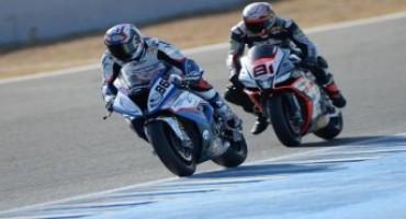 BMW Motorrad Italia SBK Team, nel round di Jerez, Badovini chiude le due manche in zona punti