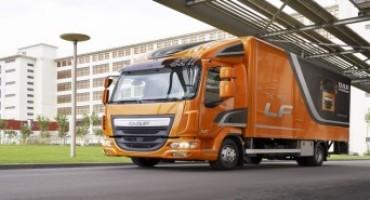 DAF presenta il nuovo veicolo LF, quando la distribuzione avviene in silenzio