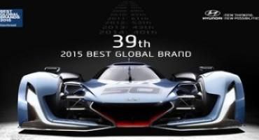 Hyundai conferma la propria crescita anche nella classifica Interbrand 2015