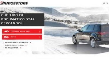 Bridgestone, look rinnovato per uno spazio online tutto nuovo