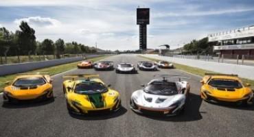 The McLaren P1™ GTR driver programme commences in Barcelona