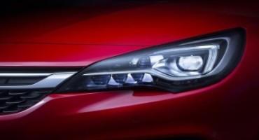 """OPEL, grazie ai fari IntelliLux LED® a matrice, la nuova Astra vince il premio """"SAFETYBEST 2015"""""""
