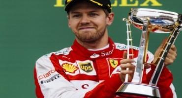 Formula 1-Ferrari-GP degli Stati Uniti: soddisfazione per il podio di Vettel