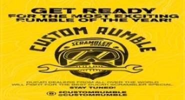 Custom Rumble: le più belle Scrambler® realizzate dai dealer ufficiali Ducati nel mondo