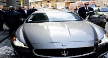 Maserati, una Quattroporte per il Principe Alberto di Monaco in occasione della sua visita a Napoli