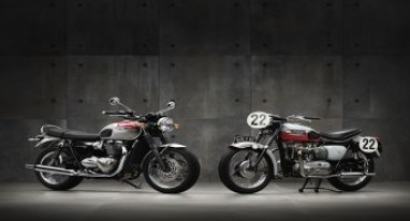 Triumph presenta la nuova generazione di Bonneville