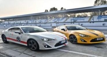 Toyota e GT86 Academy pronti per la 4° Tappa della GTCup 2015 che si disputerà a Monza