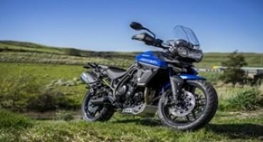 Triumph amplia la gamma Adventure, con due nuovi modelli di Tiger
