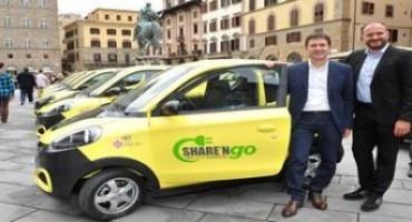 A Firenze arrivano le Equomobili di Share'ngo