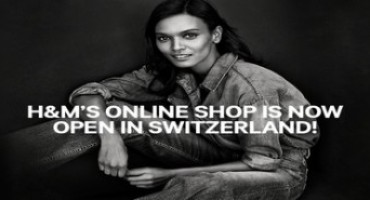 H&M has launched shop online in Switzerland