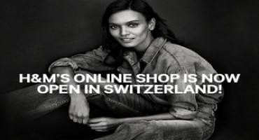 H&MhaslaunchedshoponlineinSwitzerland