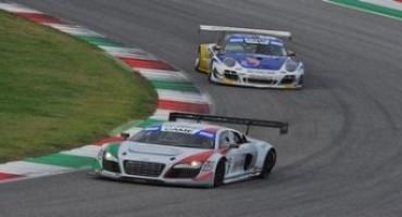 Campionato Italiano GT 2015, Mugello: Mapelli-Amici (Audi R8 LMS) vincono Gara 1, si riapre per loro la lotta al titolo