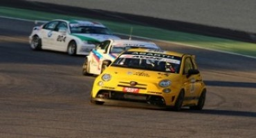 Grande risultato per l'Abarth 695 Assetto Corse Record che supera l'esame della pista al Mugello