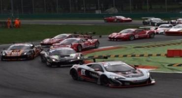 Autodromo Nazionale Monza: vittoria McLaren all'International GT Open