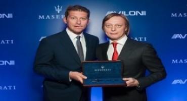 Avilon, la nuova Concessionaria Maserati a Mosca