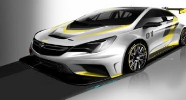 Anteprima mondiale della nuova Opel Astra TCR