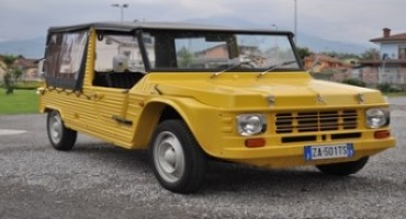 Automoto d'Epoca 2015: Citroën, l'auto per vivere l'avventura