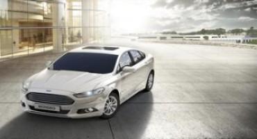Ford partecipa con la nuova Mondeo Hybrid all'evento No Smog Mobility