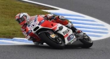 MotoGP 2015, GP del Giappone, Ducati Team: Dovizioso quinto a Motegi, Iannone costretto al ritiro