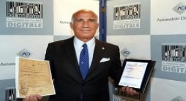 Certificato di proprietà dei veicoli, dal 5 ottobre diventa digitale