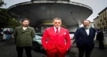 Lapo Elkann inaugura la nuova sede di Garage Italia Customs