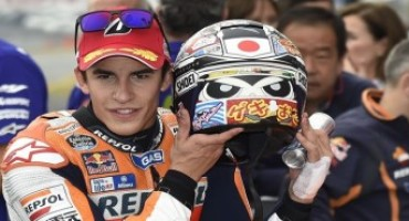 MotoGP 2015, front row start for Marquez in Motegi with Pedrosa in 6th