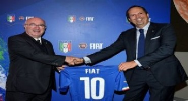 FCA sarà Top Sponsor della FIGC per altri quattro anni
