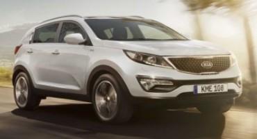 """Kia Sportage, leader nelle vendite in Europa, viene offerta nella nuova versione """"New High Tech"""""""