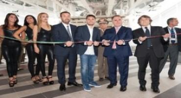 Supercar Roma Auto Show, Giancarlo Fisichella inaugura la seconda edizione