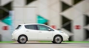 """Nissan partecipa all'edizione 2015 di """"H2R Mobility For Sustainability"""" con la nuova LEAF 2016"""