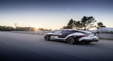La Audi RS 7 piloted driving concept affronta la pista in Spagna