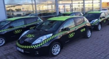 Nissan guida la rivoluzione elettrica con oltre 550 taxi elettrici presenti sulle strade europee