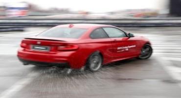 EICMA 2015, BMW M si esibisce in uno show di Drifting per gli appassionati della kermesse milanese