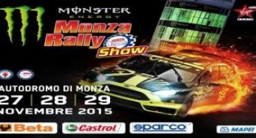 Monster Energy Monza Rally Show, tanti i protagonisti dell'edizione 2015