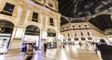 Mercedes me Store di Milano, boom di visitatori nei primi sei mesi