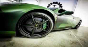 Dalla collaborazione tra Garage Italia Customs e Pirelli nascono gli pneumatici con spalla colorata