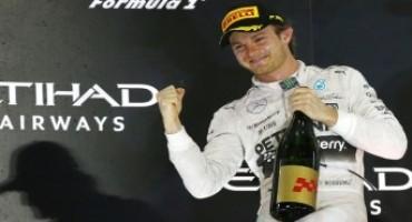 Formula 1 – GP Abu Dhabi: vittoria meritata di Rosberg che vince davanti a Hamilton e Raikkonen