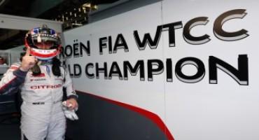 WTCC, Citroën: in Thailandia  José María López si laurea per la seconda volta campione del mondo