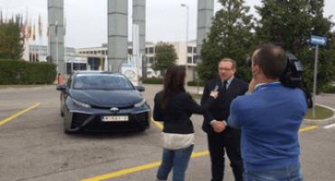H2R-Ecomondo 2015, l'intervento di Andrea Carlucci, AD di Toyota Motor Italia