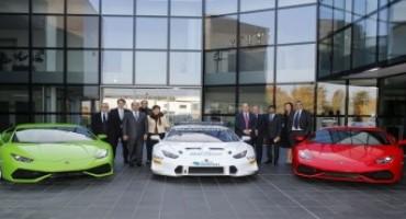 Automobili Lamborghini ospita le più importanti eccellenze del territorio bolognese