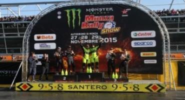 Monster Energy Monza Rally Show 2015, quarto successo per Valentino Rossi davanti a 55 mila spettatori