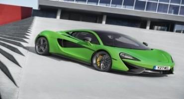 McLaren sports series enters production