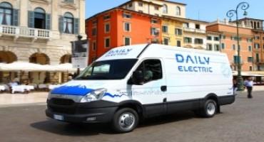 Iveco presenta il nuovo Daily Electric a Ecomondo 2015
